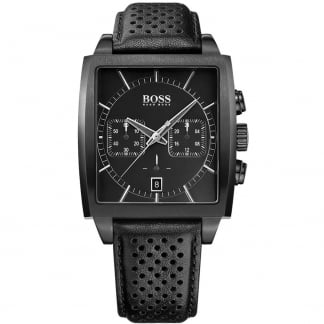 Men's Heritage Black PVD Chronograph Watch