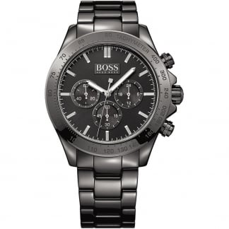 Men's Ikon Black Ceramic Chronograph Watch