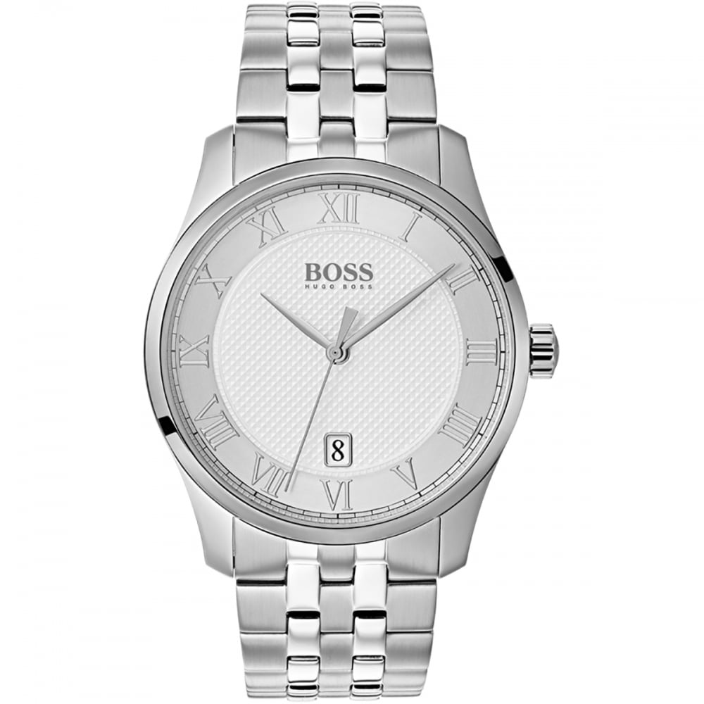 cdd3e20fbb6f30 BOSS Men's Master Roman Numeral Bracelet Watch Product Code: 1513589