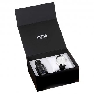 Men's Watch & Aftershave Gift Set