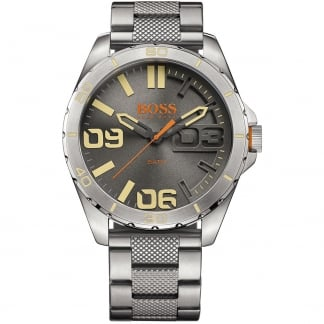Men's Stainless Steel Berlin Watch with Grey Dial