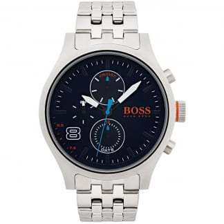 Men's Stainless Steel Multifunction Amsterdam Watch