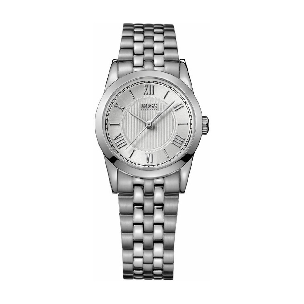 Hugo Boss Ladies Silver Tone Designer Watch Watches From Francis