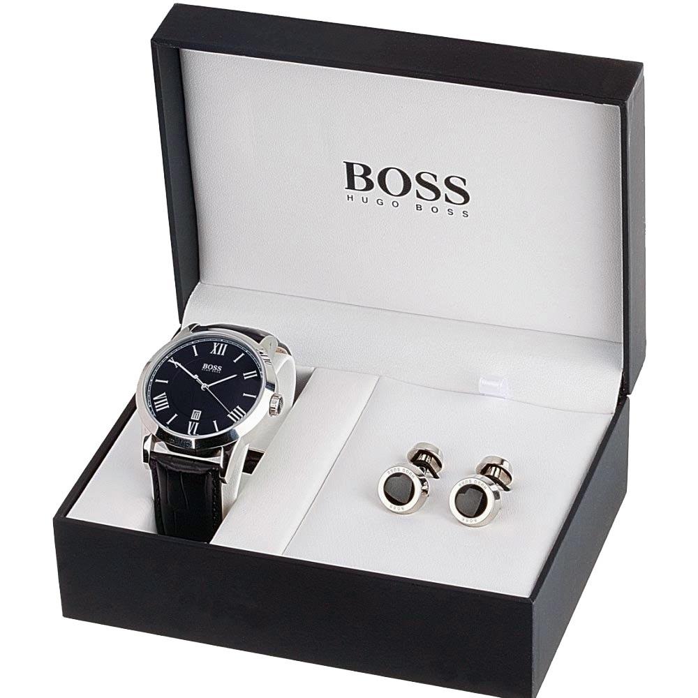 Boss Watch  U0026 Cufflinks Gift Set Watch