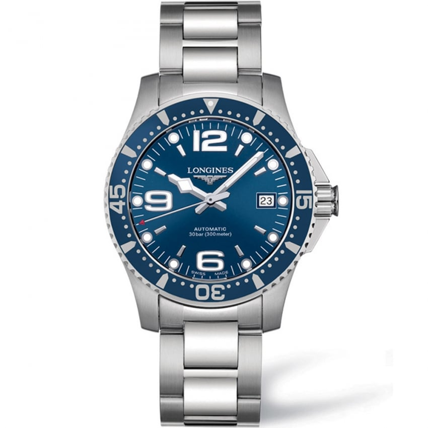 Longines HydroConquest Men's 39mm Automatic Watch L3.741.4.96.6