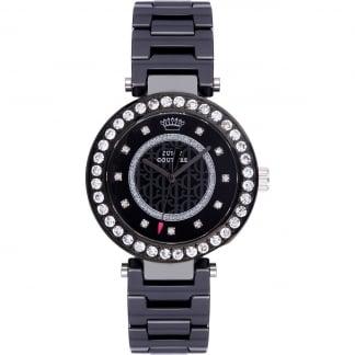 Ladies Black Ceramic Luxe Couture Watch 1901260