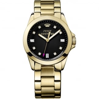 Ladies Gold and Black Stella Watch 1901122