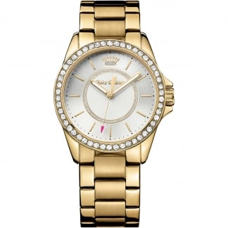 Ladies Gold and Stone Set Laguna Watch 1901409