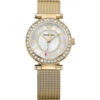 Ladies Gold Mesh Bracelet Cali Watch 1901373