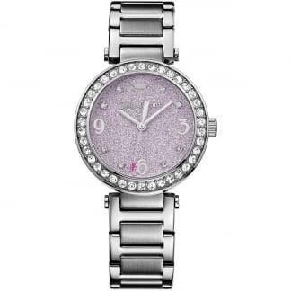 Ladies Stainless Steel and Purple Cali Watch 1901327