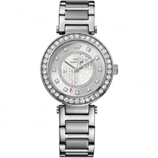 Ladies Stainless Steel Stone Set Luxe Couture Watch 1901150