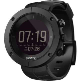 Kailash Carbon GPS Black Rubber SmartWatch