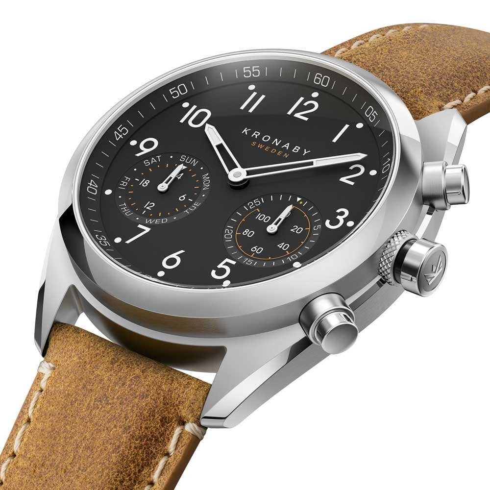 16cac6e49 Buy the Kronaby Apex A1000-3112 Hybrid Watch | Francis & Gaye Jewellers