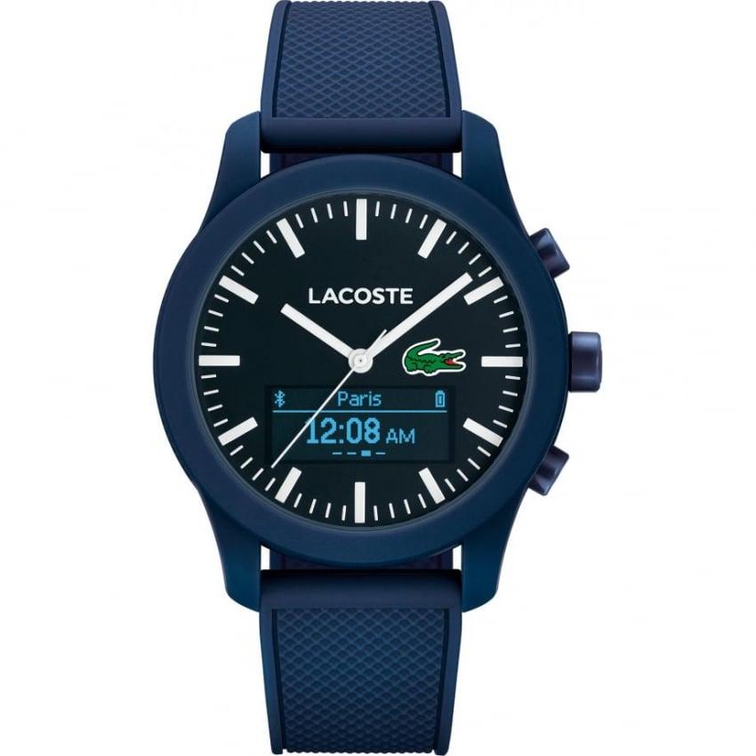 Lacoste Men's Blue Rubber 12.12 Smart Watch 2010882