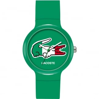 Men's Green Goa Watch with Green Logo Dial