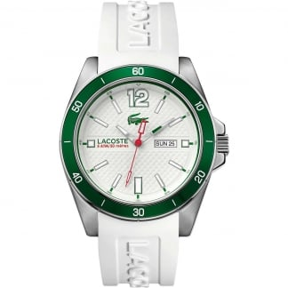 Men's Seattle White Silicone Sports Watch