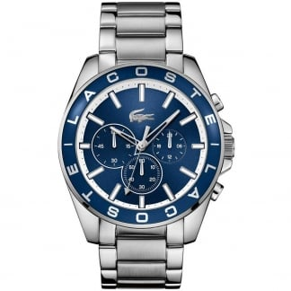 Men's Westport Blue Dial Steel Chronograph Watch