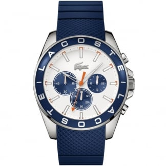 Men's Westport Blue Rubber Chronograph Watch