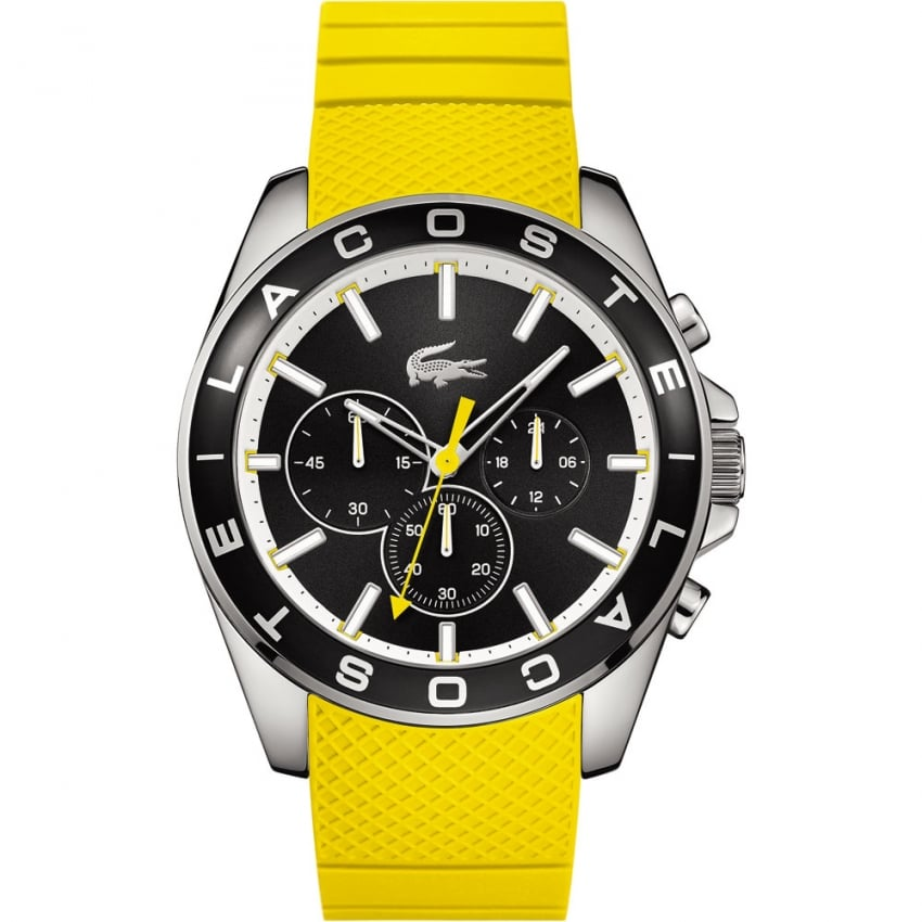 Lacoste Men's Yellow Westport Chronograph Watch 2010852