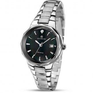 Ladies Classic Bracelet Watch With MOP Dial