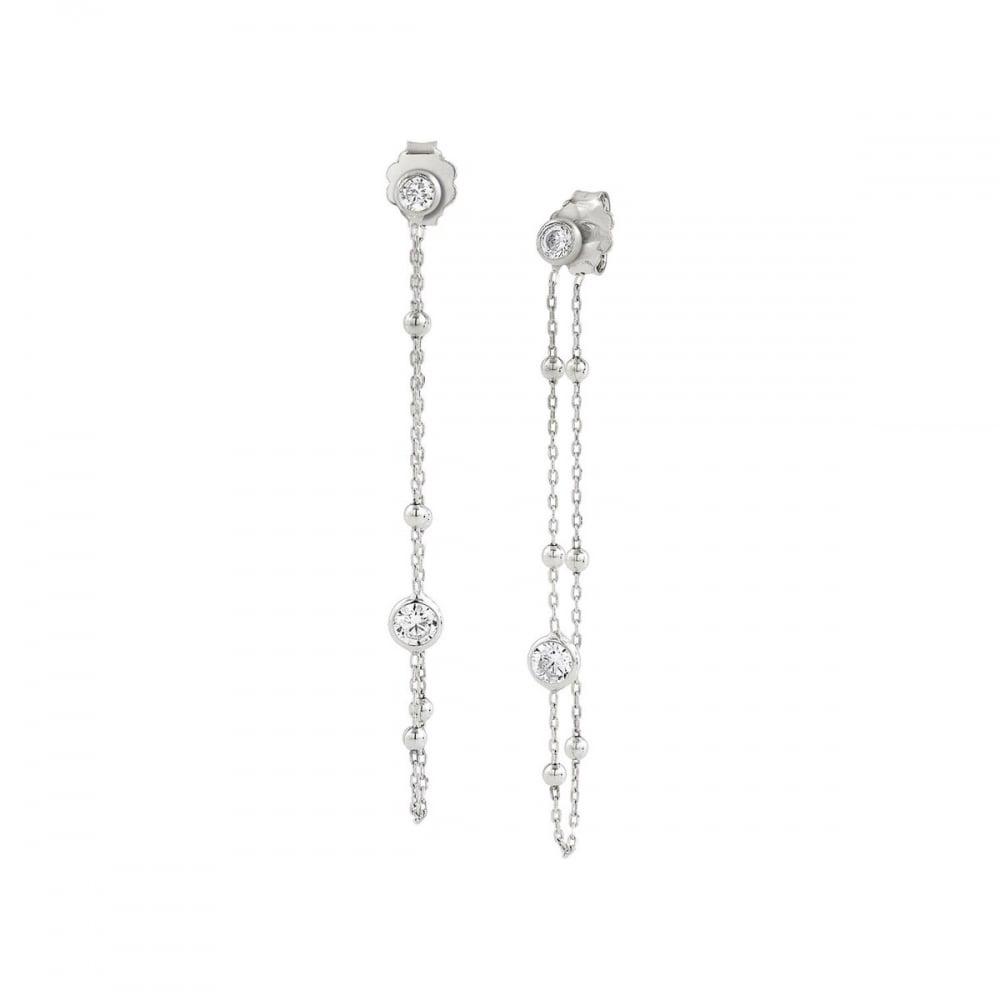 8708d53da Nomination Ladies Bella Delicate Silver Long Drop Earrings ...