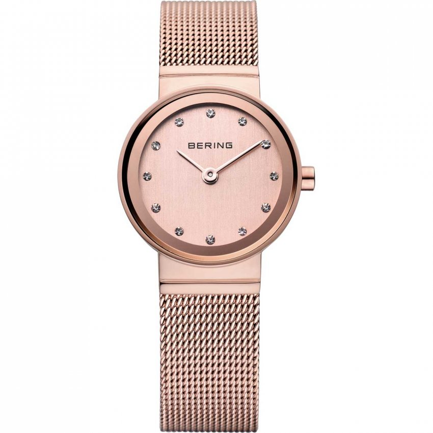 Bering Ladies Rose PVD Plated Quartz Watch 10122-366