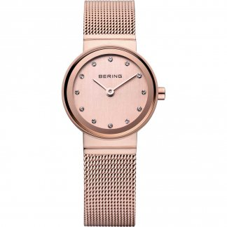 Ladies Rose PVD Plated Quartz Watch 10122-366