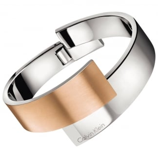 Ladies Bi-Colour 'Intense' Bangle