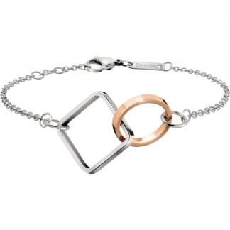 Ladies Bi-Colour Interlocked 'Wonder' Bracelet