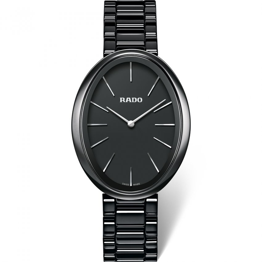 RADO Ladies Black Esenza Ceramic Touch Watch R53093152