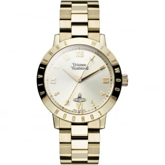 Ladies Bloomsbury Gold Bracelet Watch