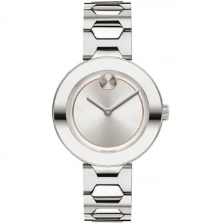 Ladies Bold 32mm Stainless Steel Watch