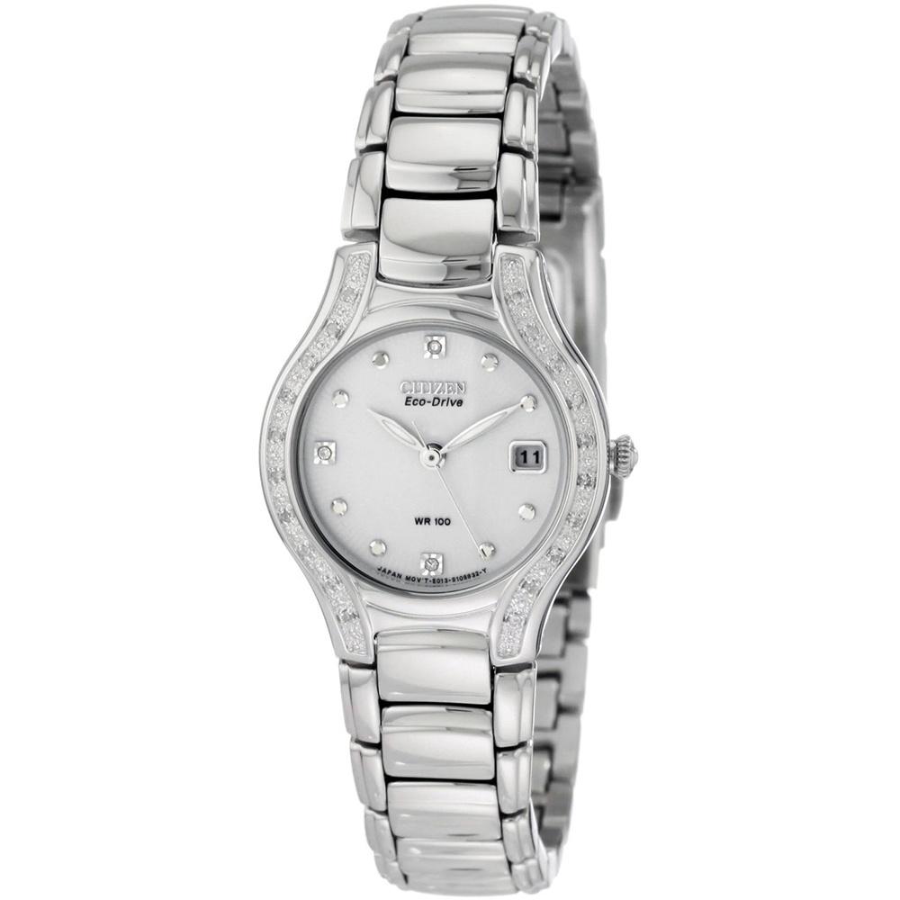 236c1fd3a28b81 Citizen Ladies Modena 23 Diamond Eco-Drive Watch Product Code: EW0970-51B