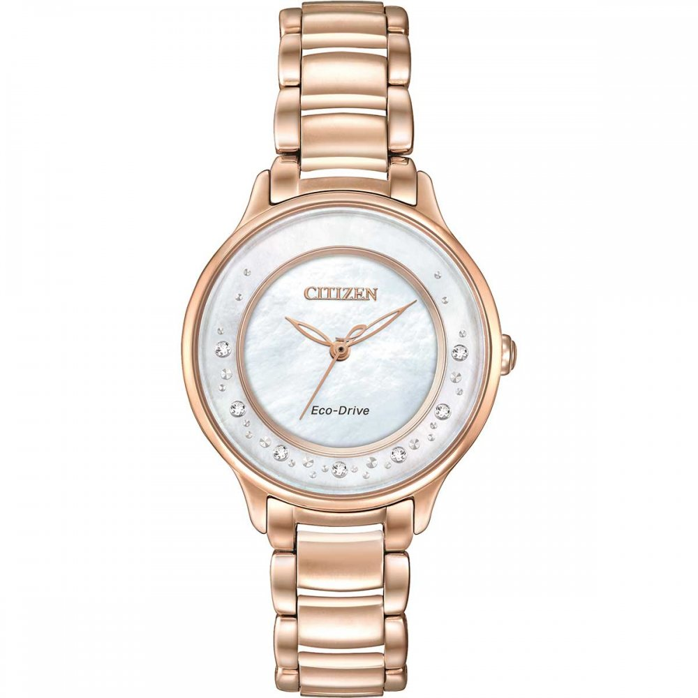 Shop Ladies Citizen EM0382-86D Circle of Time Watch ...