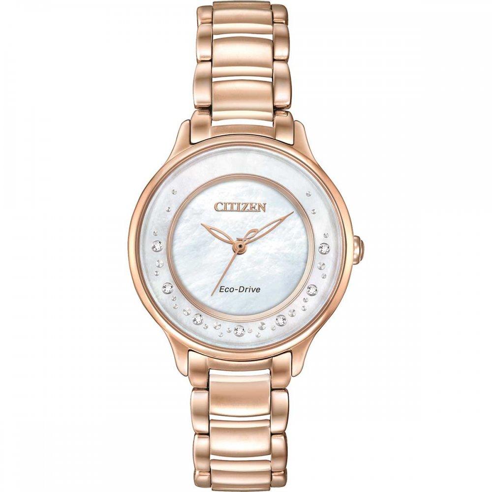 Shop Ladies Citizen EM0382-86D Circle of Time Watch ...