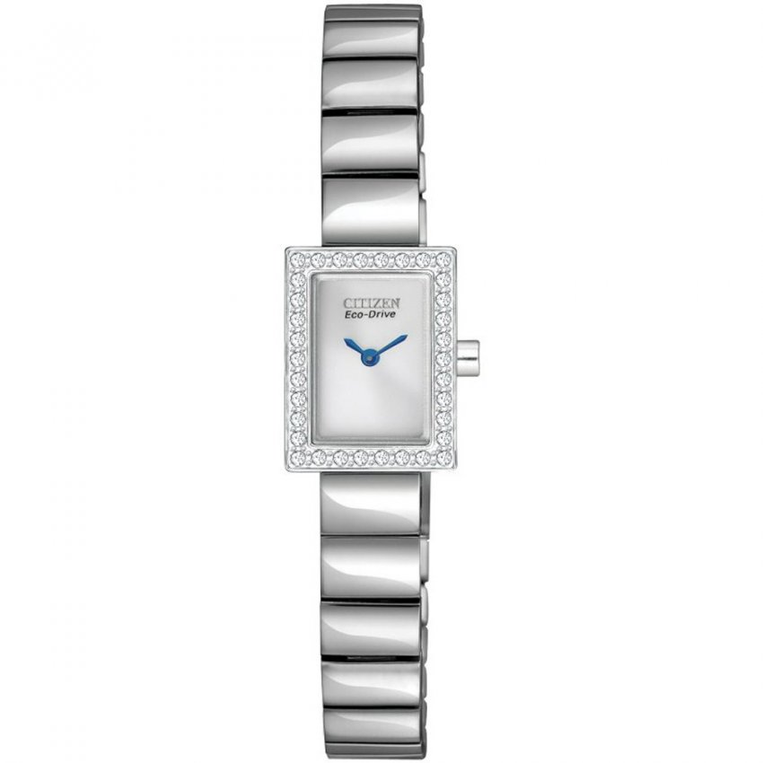 Citizen Ladies Silhouette Crystal Eco-Drive Watch EG2880-54A