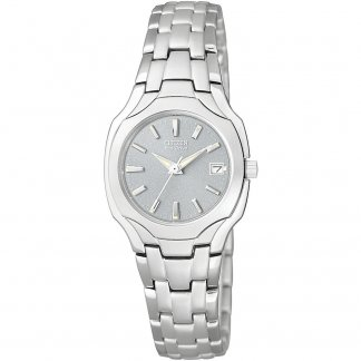 Ladies Silhouette Eco-Drive Watch EW1250-54A