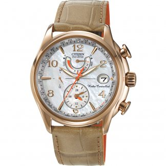 Ladies World Time A.T Eco-Drive Watch FC0003-18D