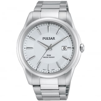 Ladies Classic Stainless Steel Watch