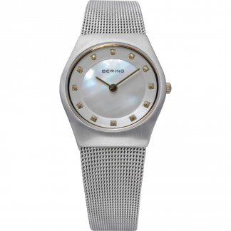 Ladies Classic Swarovski Mother of Pearl Dial Watch