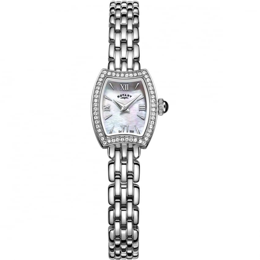 Ladies Cocktail Crystal Set Dress Watch LB05054/41