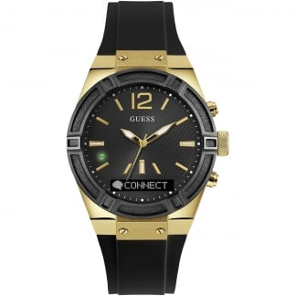 Ladies CONNECT Black & Gold 41mm Smartwatch