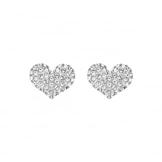 Ladies Crystal Set 'Instinct Heart Studs