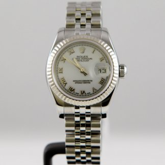 Ladies DateJust White Dial Steel Jubilee 179174 (2006) 4018714