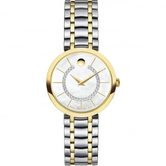 Ladies Diamond 1881 Automatic Two Tone Watch