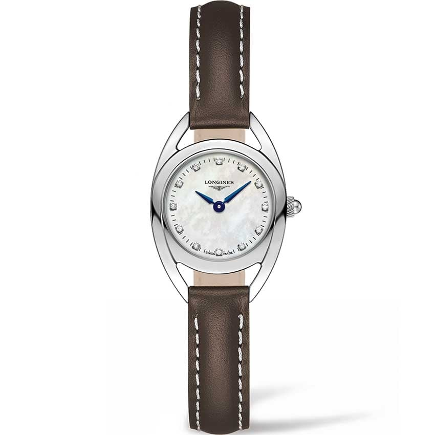 Longines Ladies Diamond Equestrian Collection Watch L6.135.4.87.2
