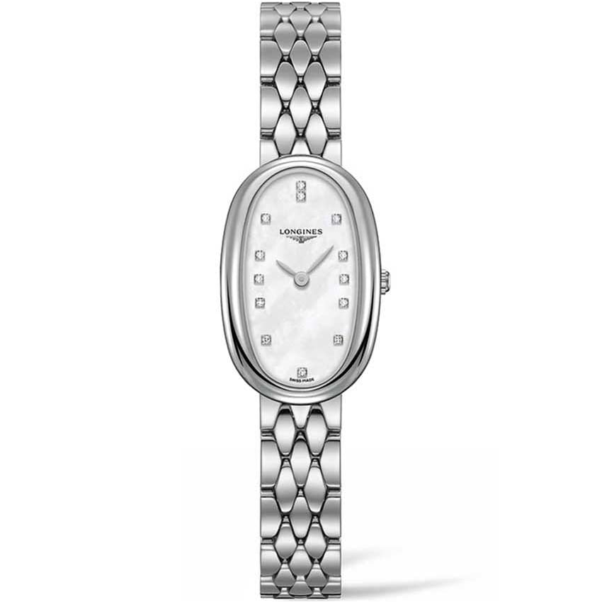 Longines Ladies Diamond Symphonette Quartz Watch L2.305.4.87.6