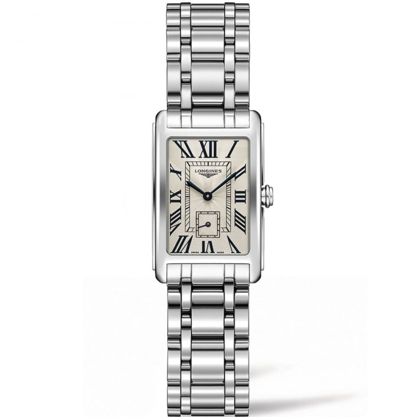 Longines Ladies DolceVita 20.5MM Roman Numeral Dial Watch L5.255.4.71.6