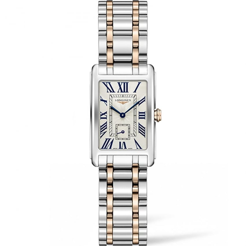 Longines Ladies DolceVita 20.5MM Two Tone Quartz Watch L5.255.5.71.7