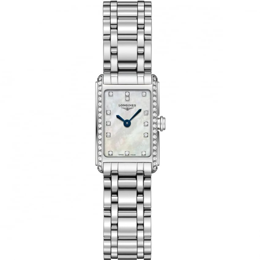 Longines Ladies DolceVita Diamond Set Quartz Watch L5.258.0.87.6